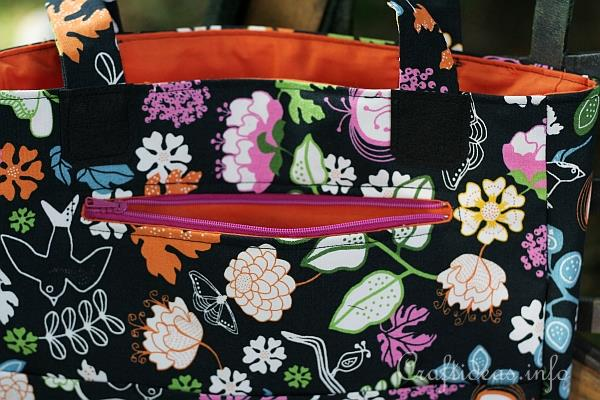 Sewing Project - Handbag Details