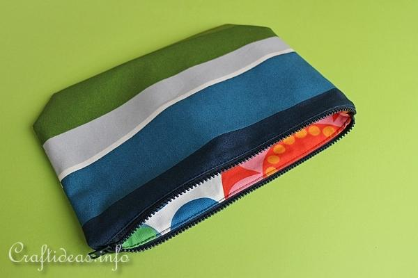 Sewing Project - Zipper Pouch