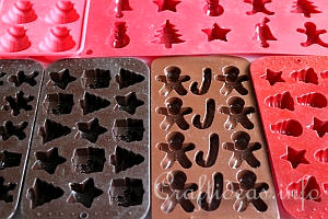 Silicone Christmas Candy Molds