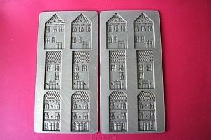 Silicone Mold With Houses