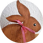 Simple Wooden Bunny