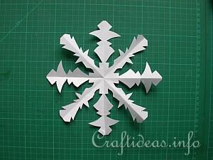free craft instructions how to make paper snowflakes. Black Bedroom Furniture Sets. Home Design Ideas