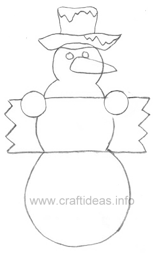 Woodworking plans free snowman wood craft patterns pdf plans for Templates for wood cutouts