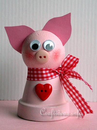 Creative Spring Crafts For Kids How To Make A Clay Pot Pig