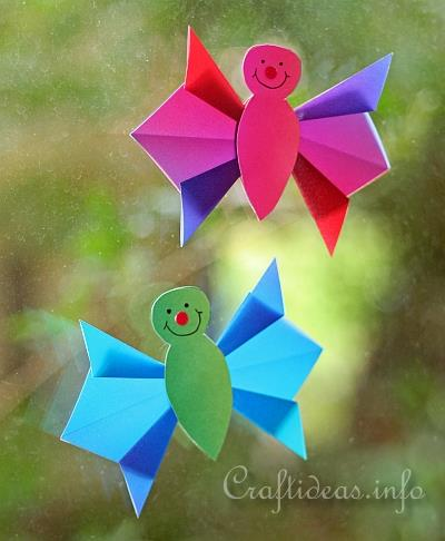 Spring Paper Crafts For Kids