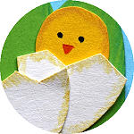 Spring Season - Easter Chick Crafts
