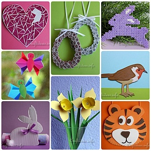 Spring and Easter Crafts for Kids