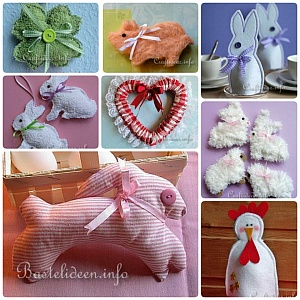 Spring and Easter Textile and Sewing Crafts