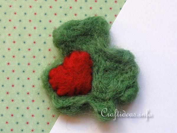 St. Patrick's Day Craft - Shamrock Lapel Pin