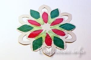 Stained Glass Snowflakes Tutorial 12