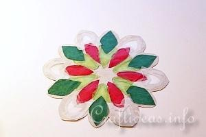 Stained Glass Snowflakes Tutorial 13