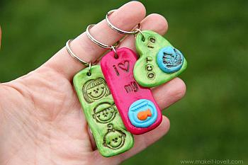 Stamped Clay Jewelry
