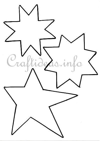 Star Template  KakTakTk