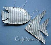 Summer Craft - Paper Craft - Faux Paper Fish