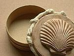 Summer Craft - Paper Mach� Trinket Box with Seashell Motif