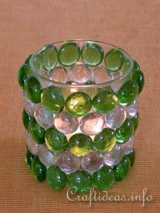 Free Summer Craft Project Create This Romantic Votive Candle Glass For The Summer