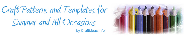 Summer Craft Templates and Patterns