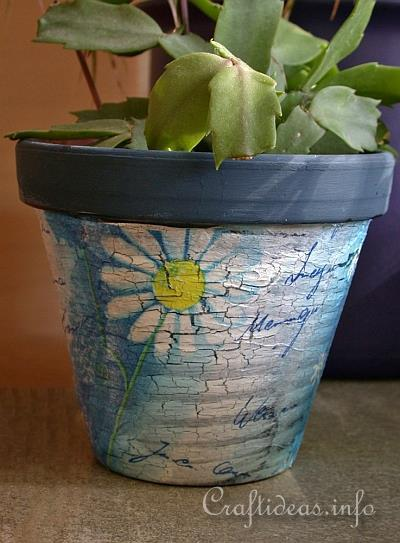 Summer Flower Pot Craft