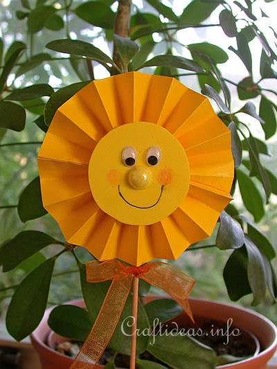 Sunshine Plant Stick
