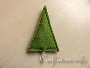 Tutorial - Felt Christmas Tree 4