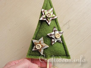 Tutorial - Felt Christmas Tree 7