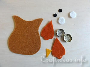 Tutorial - Felt Owl Ornaments 1