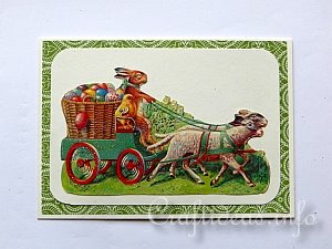 Tutorial - Vintage Easter Card 4