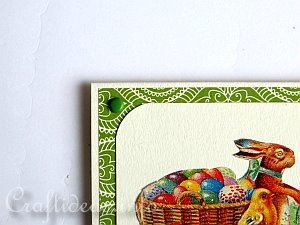 Tutorial - Vintage Easter Card 7