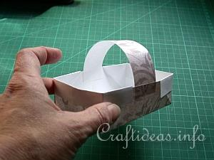 Tutorial for Paper Basket 12