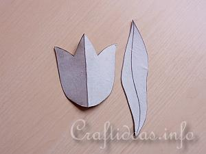 Tutorial for Paper Tulips 1