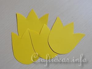 How to make tulip flower with craft paper forteforic illustrated craft tutorial how to make paper tulips for a bouquet mightylinksfo