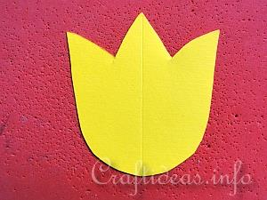 Tutorial for Paper Tulips 5