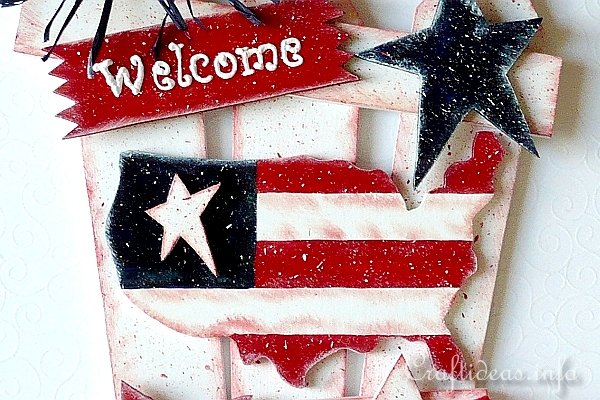 USA Welcome Sign 2