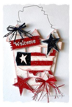 USA Welcome Sign