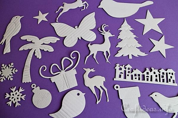 Upcycling Cardboard Boxes for Crafting - Cardboard Box Die Cuts