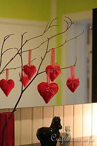 Valentine's Day Decoration- Heart Ornaments