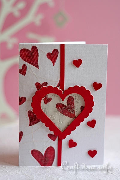 Spring greeting cards valentines day shaker card valentines day shaker card 2 m4hsunfo