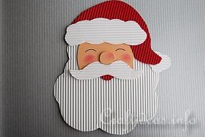 winter and christmas season santa crafts - Santa Crafts