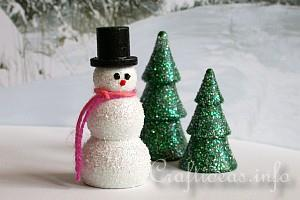 Winter and Christmas Season - Snowman Crafts
