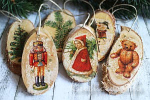 Winter and Christmas Season - Wood Crafts