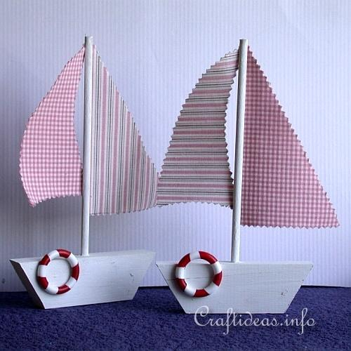 Free Maritime Craft Project Wood Craft Wooden Sailboat