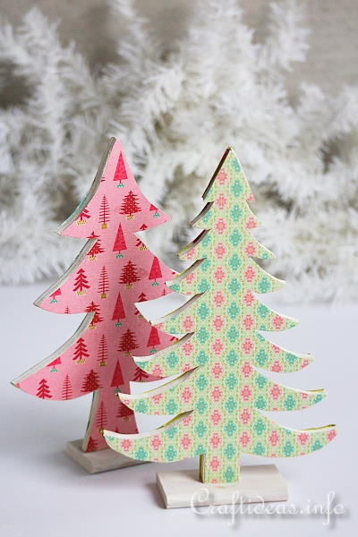 Wooden Christmas Tree Decoration 2