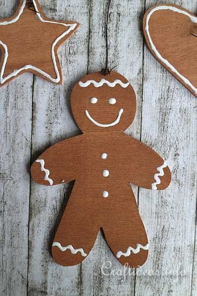 Wooden Gingerbread Man Sign