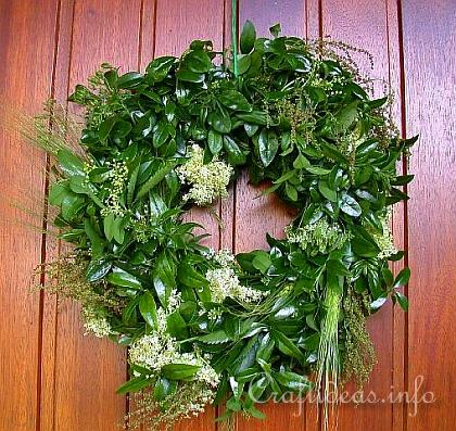 Wreath Making - Summer Wreath for the Door 2