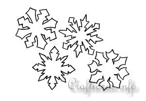 Winter and Christmas Season - Patterns, Templates and Coloring Book Pages